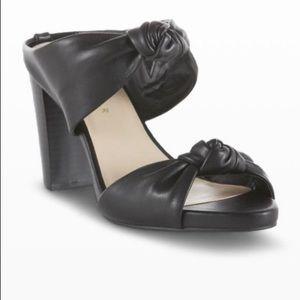 Metaphor Women's Bria Knotted Dress Sandal - Black